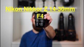 Nikon Z 14-30mm F4 First Look.