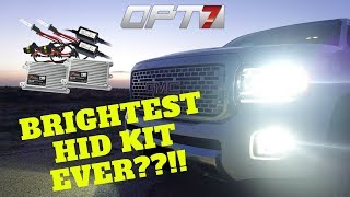 Is this really the BEST HID Kit ever? ... OPT7 5k Canbus