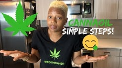 "How to make Cannabis Tincture Oil! (For Edibles) | Step-By-Step (Featuring ""Magic Butter Machine"")"