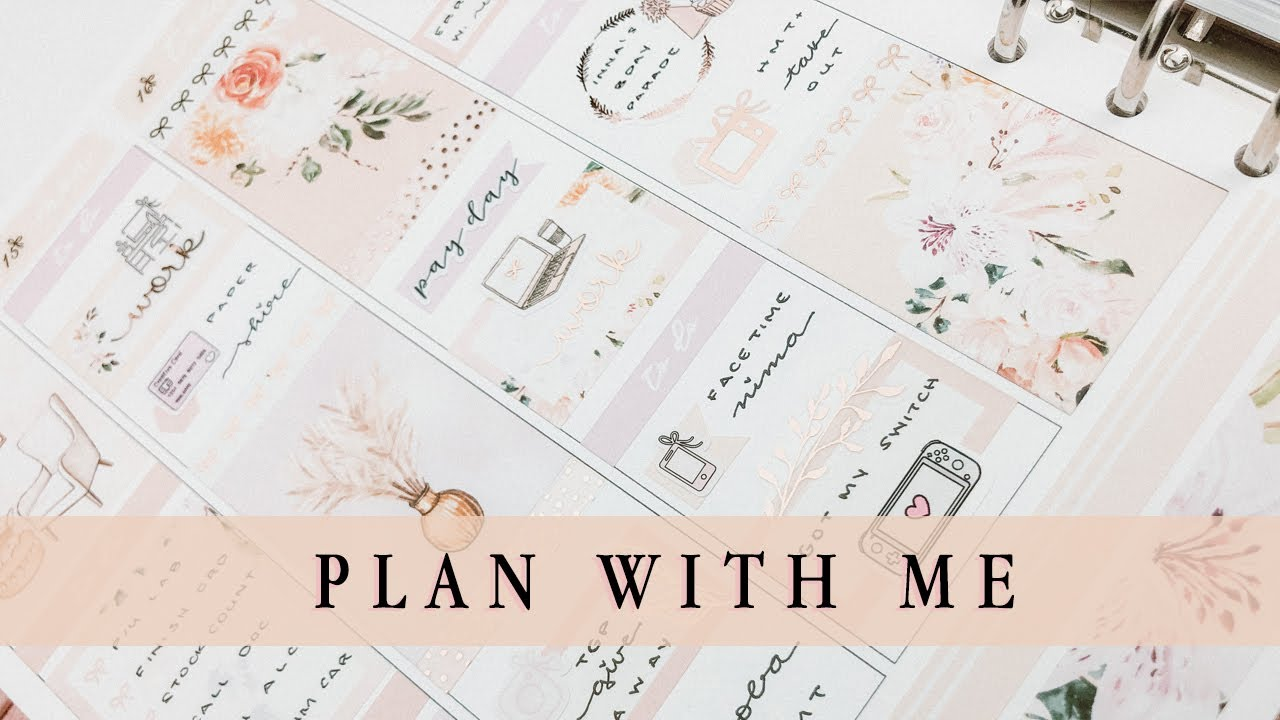 Plan With Me Collab with GatheredPlans || ft. PLP 'Palm Springs'