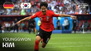 KIM Younggwon Goal - Korea Republic v Germany - MATCH 43
