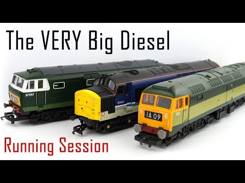 The VERY Big Diesel Running Session