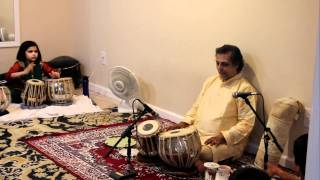 TAALSADHANA - Pt. Swapan Chaudhuri - Tabla workshop in NJ