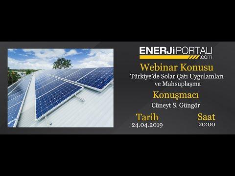 Webinar - Türkiye'de Solar Çatı Uygulamaları ve Mahsuplaşma