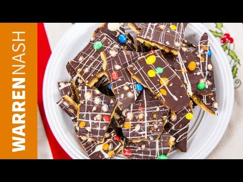 Christmas Crack Recipe - The ULTIMATE Toffee Holiday Candy - Warren Nash