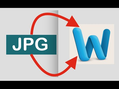 How To Convert Jpg Jpeg Image Word Doent Online Free