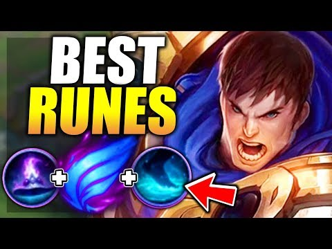 The Best Way To Play Garen In Season These Are The Best Runes