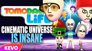 My Tomodachi Life cinematic universe is insane