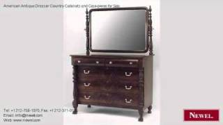 American Antique Dresser Country Cabinets And Case-pieces