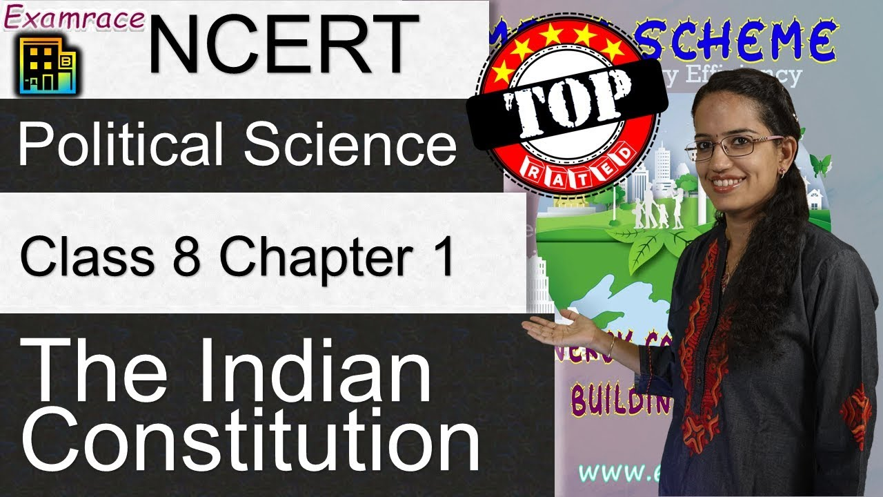 NCERT Class 8 Political Science / Polity / Civics Chapter 1: The Indian  Constitution | English