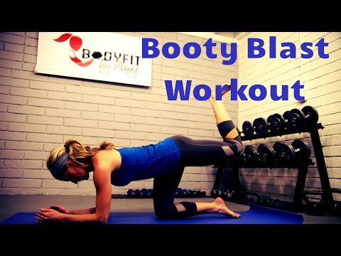 15 Minute Booty Blast Workout To Lift and Tone