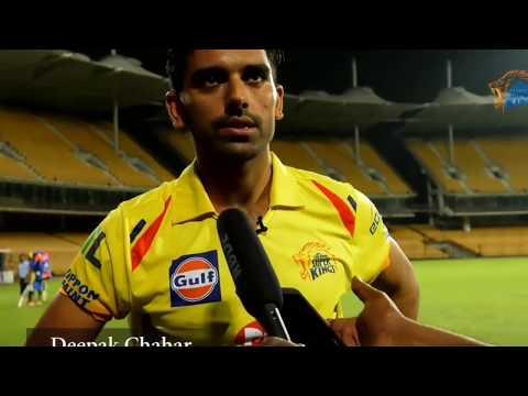 An exclusive interview of deepak chahar