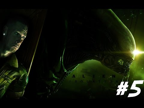 Virtual Reality Alien Isolation With The Oculus Rift DK2 - Playthrough EP.5