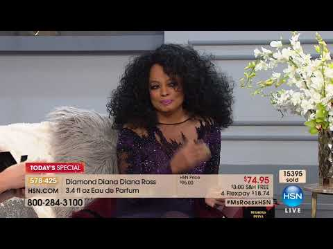 HSN | Diana Ross Fragrance Premiere 12.05.2017 - 09 PM