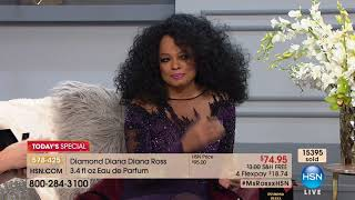 HSN   Diana Ross Fragrance Premiere 12.05.2017 - 09 PM