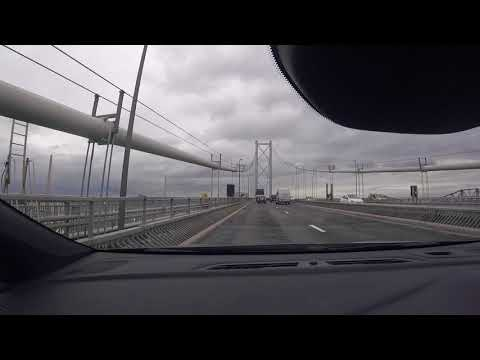 Driving to Speyside, Scotland from Edinburgh
