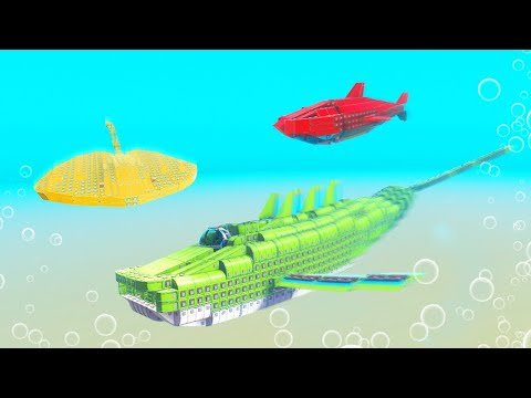 WHO CAN BUILD THE BEST SEA CREATURE CHALLENGE! (Trailmakers)