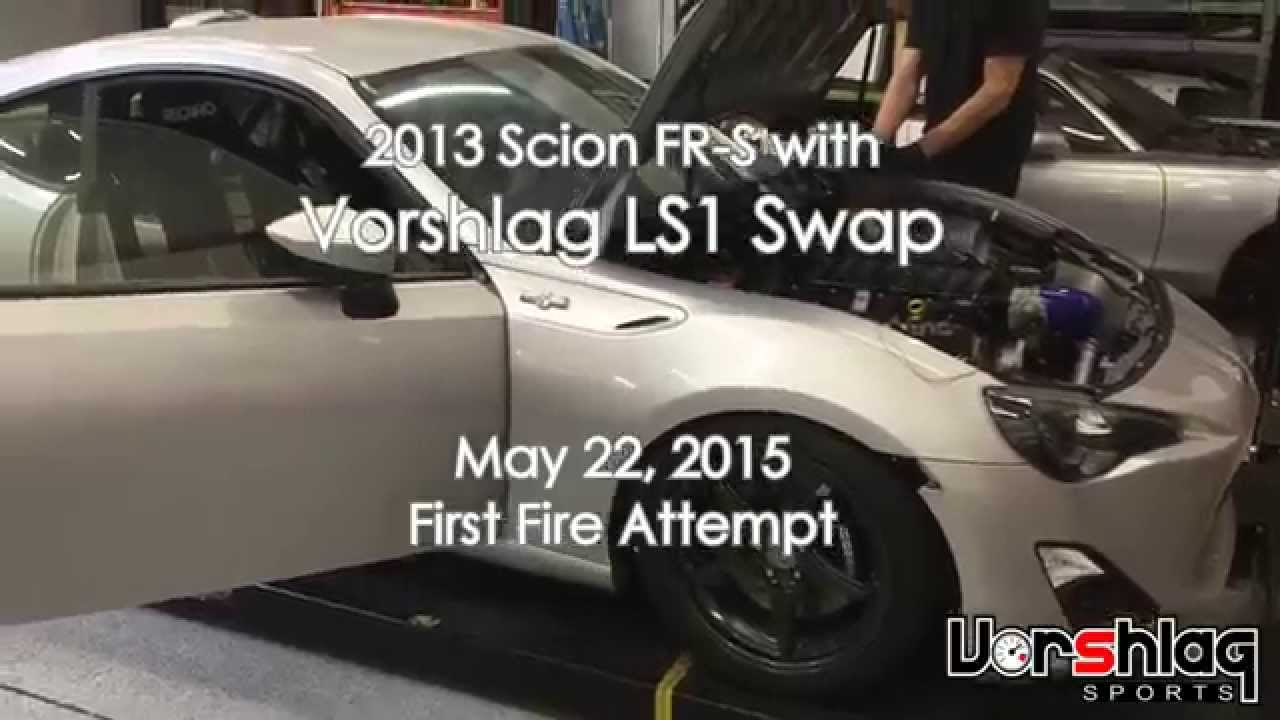 FRS LS1 First Fire   YouTube
