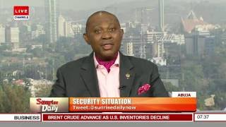 Security Analyst Lauds Military's Anti-Terror Efforts