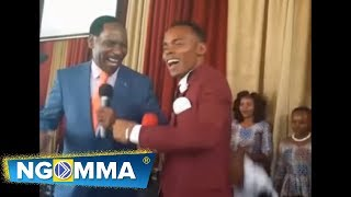 Ezekiel Mutua The CEO of the Kenya film classification Board (KFCB)       Joined Kasolo on Stage .