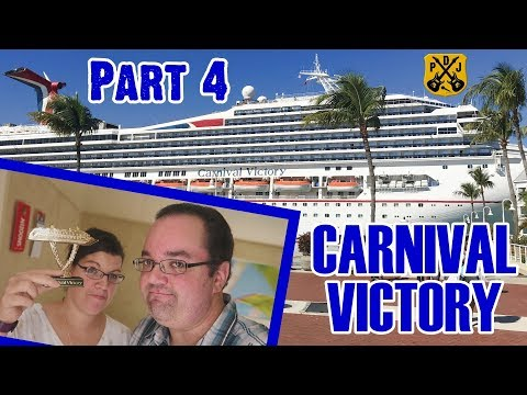 Carnival Victory Cruise Vlog 2018 - Part 4: BBQ Lunch, Deck Dancing, Rum Raffle, Arcade - ParoDeeJay