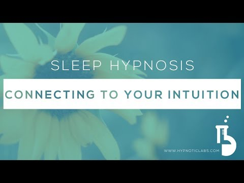 Sleep Hypnosis for Connecting to your Intuition (Higher Self, Inner Advisor) (Lo-Fi Version)