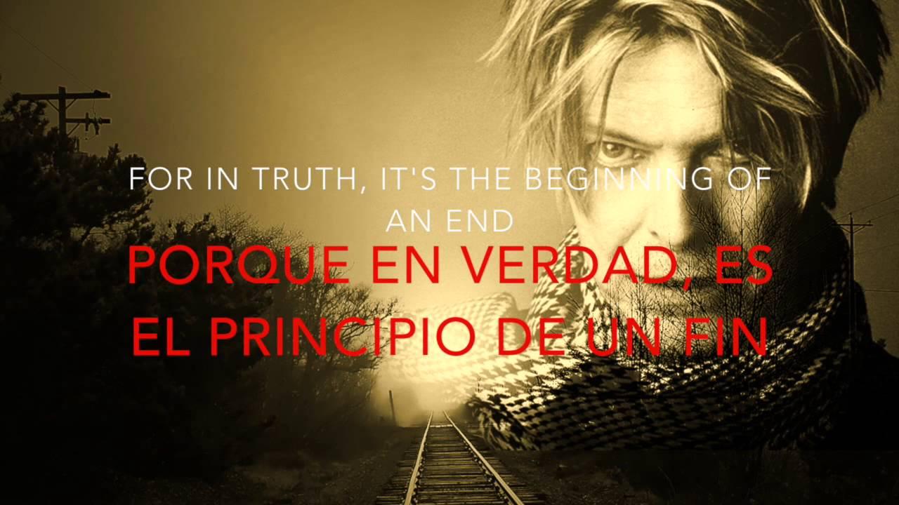 David Bowie - Sunday (Lyrics English/Spanish) (Subtitulado ...