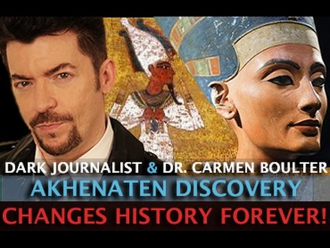 AKHENATEN DISCOVERY CHANGES HISTORY FOREVER! DARK JOURNALIST