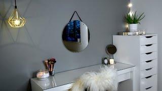 ROOM MAKEOVER // Makeup Vanity
