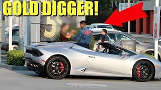 LAMBORGHINI GOLD DIGGER PRANK!! | DDG