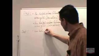 11006 - Eigenschaften von Zahlenfolgen - Zusammenfassung + Beispiel