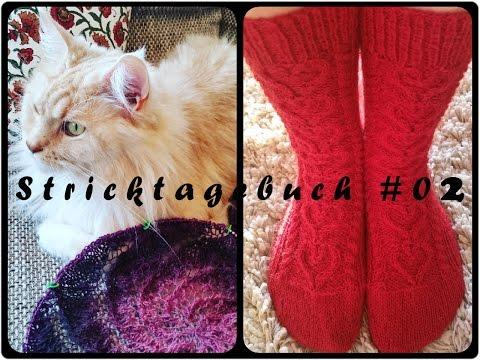 Jani´s Stricktagebuch #02 - Bunte Socken anstelle bunter Eier - FROHE OSTERN!