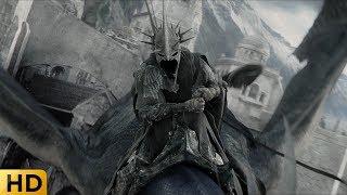 Насгулы на драконах атакуют Минас Тирит. Властелин колец: Возвращение короля.