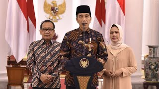 Presiden Jokowi Menyampaikan Belasungkawa atas Wafatnya Ibu Ani Yudhoyono, Istana Bogor, 1 Juni 2019