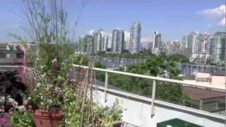 Roof Deck Veggie Garden in Vancouver
