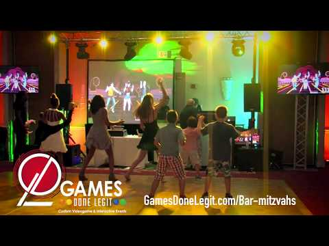 Modern Bar Mitzvah Entertainment - Virtual Reality, Just Dance Party, Casino Games!