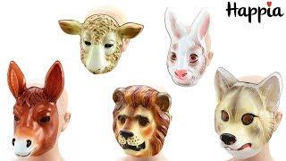 Детские маски животных / Обзор