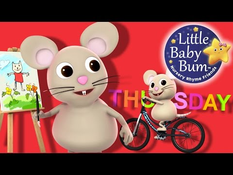 Days of The Week | Little Baby Bum | Nursery Rhymes for Babies | Songs for Kids
