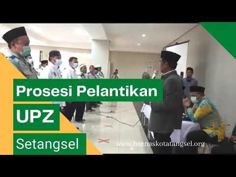 Processi Pelantikan UPZ 100 dari 450 Yg telah terbentuk di Tangerang Selatan