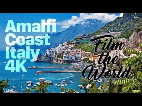 Amalfi Coast in 4K