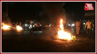 Mumbai Metro: Karni Sena Protest Against Release Of Padmavat, Vandalise Bus At Vashi Toll Plaza