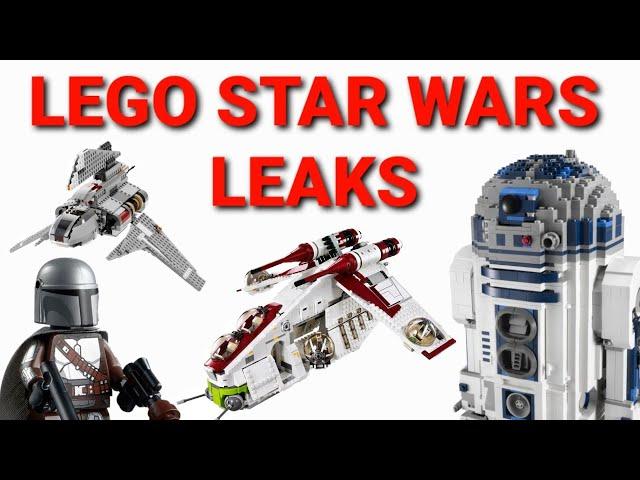 LEGO® STAR WARS Sommer 2021 LEAKS/GERÜCHTE! // UCS, Bad Batch & The Mandalorian!