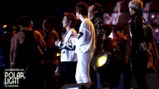 [POLAR LIGHT]130115 Golden Disk Awards Ending BAEKHYUN