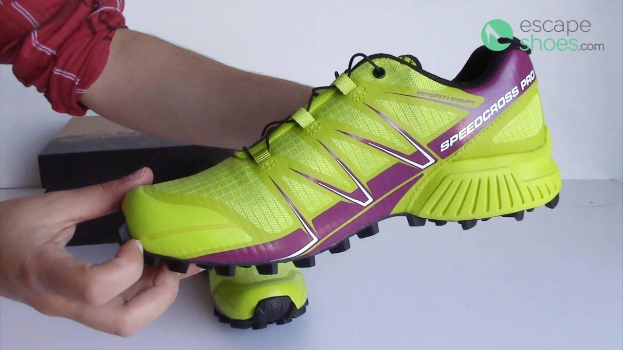 72b460903c49 Sneakers SALOMON Speedcross Pro Gecko Green - YouTube