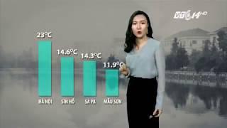 VTC14   Thời tiết tổng hợp 23/10/2017   Không khí lạnh từ Trung Quốc tràn về