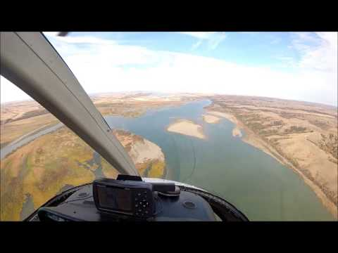 39-Mile MNRR: Running Water, SD to Sanctuary Island Helicopter Flyover