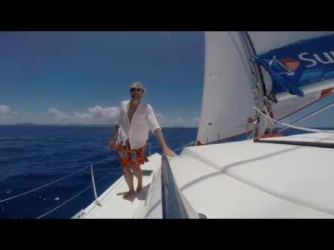 Catamaran Sailing in BVI
