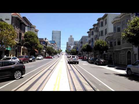 California Cable car ride