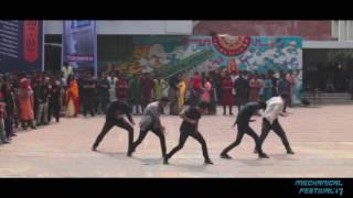 Dance Mob   Mechanical Festival 2017   BUET