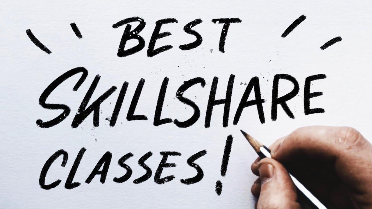 The BEST Skillshare Classes For Graphic Designers!